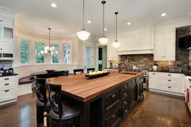 interior design two tone kitchen cabinets with kitchen island and
