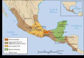 mayan empire map mayan civilization s aztec empire ancient mesoamerica