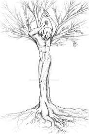 sahaquiel god tree sketch by diagonne on deviantart