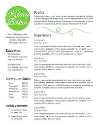 Sample Housekeeping Resume Resume Samples For Self Employed Individuals Innovation Idea