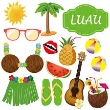 luau party supplies summer party photo booth props 36pcs diy luau party supplies