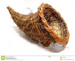 cornucopia basket royalty free stock photos image 16432288