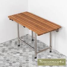 teakworks4u handcrafted teak bath mats teak shower benches us made