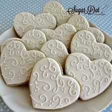 Decorated Sugar Cookies For Weddings 6870