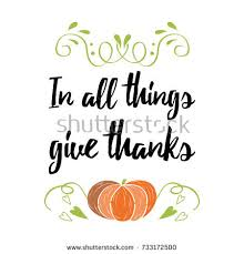 be thankful thanksgiving day simple lettering stock vector