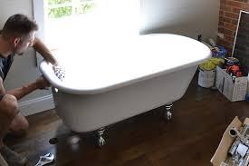 How To Paint An Old Bathtub Bathtub Remodel Ideas Bathtub Surrounds Houselogic Bathroom Tips