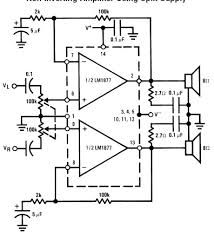 lm1877 audio power lifier circuit diagram circuit diagram world