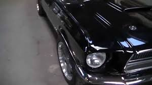 Mustang Fastback Black Ford Mustang Fastback 1968 Black Youtube