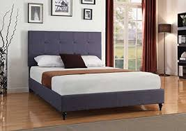 full size platform bed amazon com