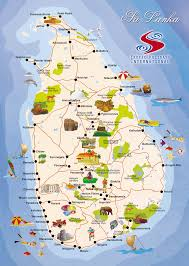 Florida Attractions Map by Sri Lanka Map Tourist Attractions Map Travel Holiday Vacations