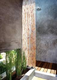 Outdoor Shower Room - 33 design ideas for wooden and metal outdoor shower enclosures