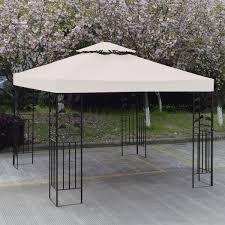 Patio Canopies And Gazebos by Gym Equipment Outdoor 10 U0027 X 10 U0027 Patio Canopy Gazebo Top Replacement