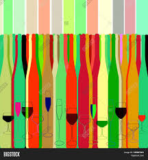 wine silhouette vector illustration silhouette vector u0026 photo bigstock