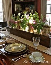 handmade reclaimed wood pallet box centerpiece wedding home