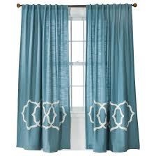 Hunter Green Window Curtains by Threshold Fretwork Border Curtain Panel Decor Pinterest