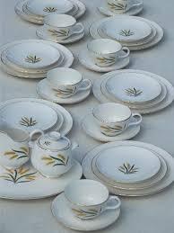 homer laughlin vintage vintage homer laughlin royal harvest wheat china dinnerware set for 6