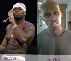 50 cent tattoos before and after pictures to pin on pinterest