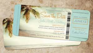 boarding pass save the date save the date boarding pass ticket vintage blue destination