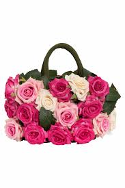 multicolored roses bag with multicolored roses lesy