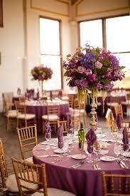 purple wedding decorations purple wedding decor raspberry plain wedding reception becca