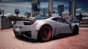 ferrari 458 widebody скачать prior design ferrari 458 widebody add on tuning