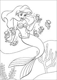 mermaid coloring pages1 coloring kids