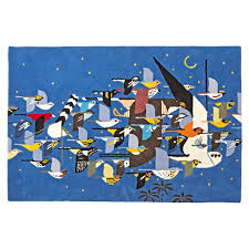Angry Birds Rug Charley Harper Artist Collection The Land Of Nod