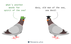 terms spirit of the sea and sea similar meaning
