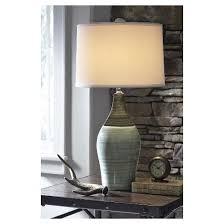 niobe table lamp set of 2 multi gray signature design by