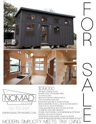 Mini Homes On Wheels For Sale by 24 U0027 Modern Tiny House On Wheels Tiny House Listings