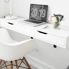 desks for small spaces ikea ikea desk small 5 small space powerhouse the 10 best wall mounted