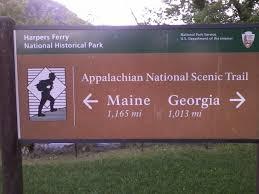 Interior Signs Trail Appalachian Trail Hike 2014 Journal