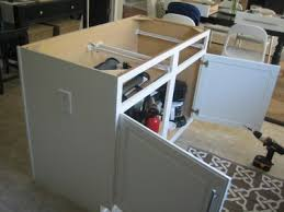 kitchen island construction diy kitchen island upgrade home construction improvement