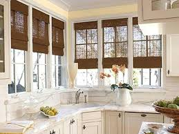 kitchen window decorating ideas blinds for bay windows home magazine window coverings for bay