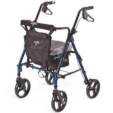 Comfort Medical Supplies Deluxe Comfort Rollator 8 U201d Wheels Wasatch Medical Supply