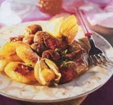 recette cuisine lapin râbles de lapin aux marrons et pommes recettes de cuisine française
