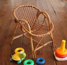 siege en rotin 1 fauteuil en rotin pour enfant vie d puce