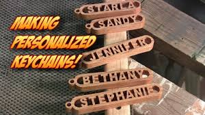 personalized wooden keychains personalized keychains great for stuffers craft