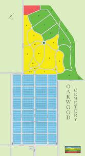 Waco Map Map Oakwood Cemetery