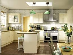 wickes kitchen island feature lighting as shown here in the wickes atlanta gloss