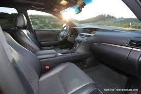 lexus rx 350 interior colors review 2013 lexus rx 350 f sport video the truth about cars
