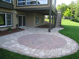 Terraced Patio Designs Patio Paver Terraced House With A White Color And Its Terraced