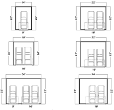 garage dimensions what are the minimum dimensions for a double garage in detached