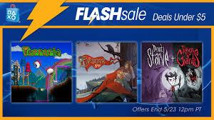flash sale now deals 5 playstation