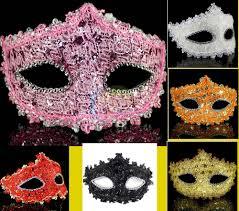 wholesale masquerade masks hot sale luxury masquerade mask blue white pink orange purple