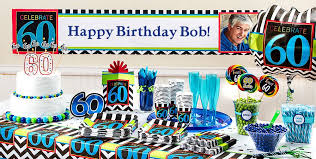 celebrate 60 birthday celebrate 60th birthday party supplies 60th birthday party city