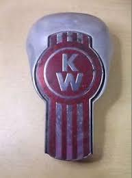 kenworth l56 1003 vintage ornament grab handle emblem free