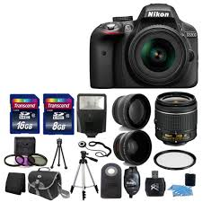 amazon black friday exemplo descontos 2017 new nikon d3300 digital slr camera w 3 lens complete dslr kit