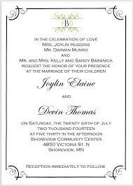 ceremony cards wedding ceremony invitation wording vertabox