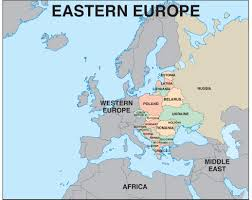 European Map by Central And Eastern Europe Map Europe Pinterest Eastern